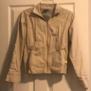Rare Vintage Nike Play Up Jacket Beige Sz S(4-6)